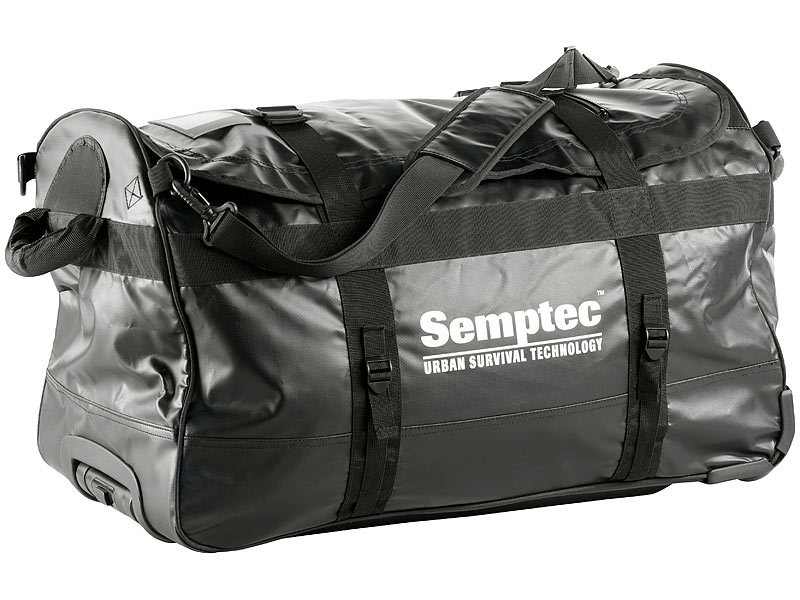 semptec urban survival technology refurbished semptec trolley reisetasche aus lkw plane. Black Bedroom Furniture Sets. Home Design Ideas