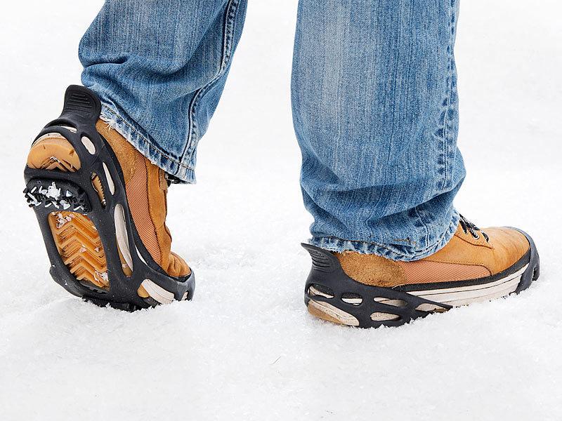 Unitec 10952 Schuh-Spikes 1 Paar Schuhgröße 38-45 rutschsicher Eis Spikes
