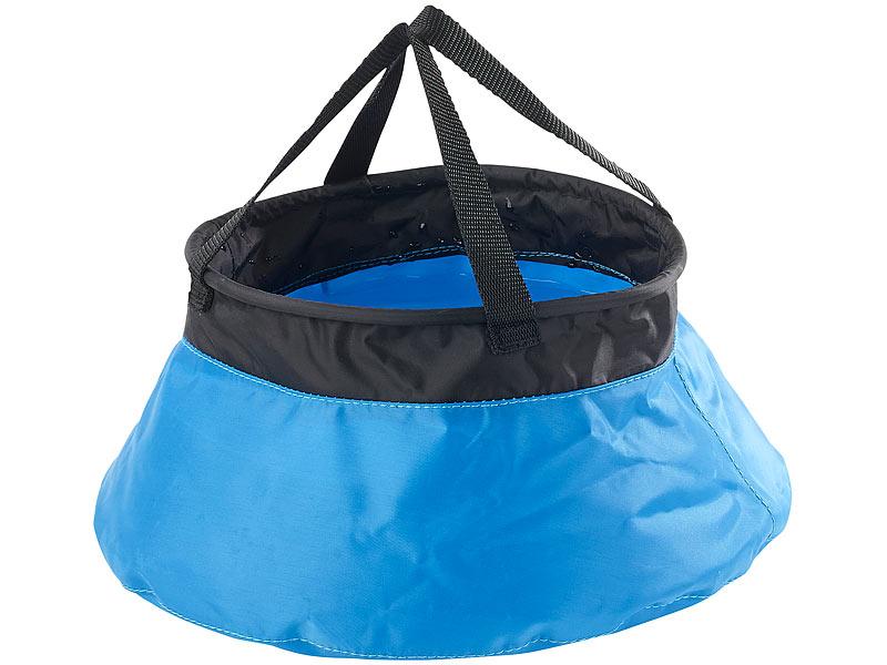 Faltbarer Wasserkanister  20 L Camping Zubehör mit Hahn zelten  Reisekanister