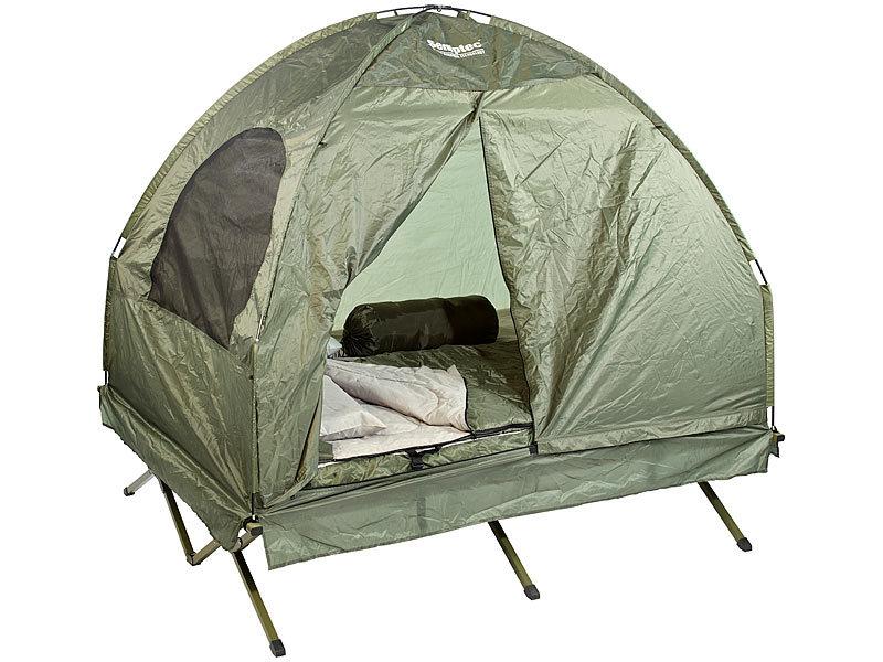 semptec urban survival technology 4in1 doppelzelt mit 2 schlafs cken matratze liege und kissen. Black Bedroom Furniture Sets. Home Design Ideas