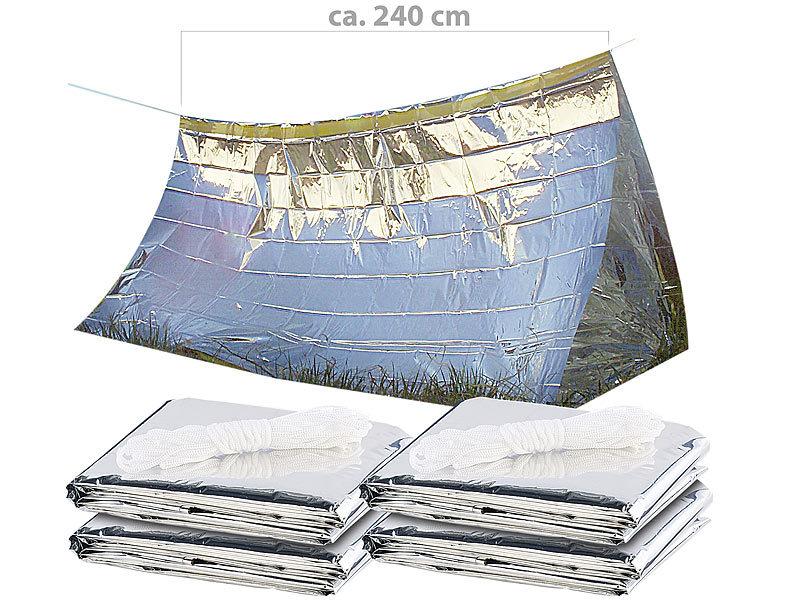 semptec urban survival technology 4er set notfall zelte. Black Bedroom Furniture Sets. Home Design Ideas