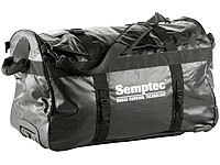 Semptec Urban Survival Technology 2in1-Trolley-Reisetasche aus reißfester Lkw-Plane, 100 l