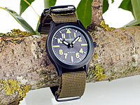 Semptec Urban Survival Technology Solar-Armbanduhr im Military-Style