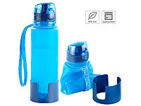 Semptec Urban Survival Technology 2 gourdes enroulables en silicone 650 ml