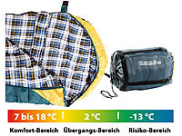 Semptec Urban Survival Technology Sac de couchage sarcophage 225 X 85 cm (températures de -5 à 0 °C)