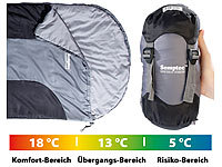 Semptec Urban Survival Technology Sac de couchage sarcophage ultralight en microfibre