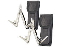 Semptec Urban Survival Technology 2er-Set 15in1-Basis-Multitools aus rostfreiem Edelstahl