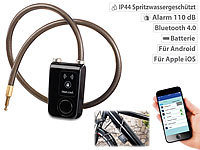 Semptec Urban Survival Technology App-gesteuertes Kabelschloss, Bluetooth (refurbished)