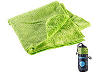 Semptec Urban Survival Technology Serviette en microfibres double face 80 x 40 cm  Vert