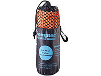 Semptec Urban Survival Technology Serviette en microfibres double face 80 x 40 cm  Orange