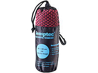 Semptec Urban Survival Technology Serviette en microfibres double face 80 x 40 cm  Rouge