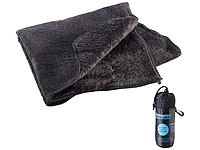 Semptec Urban Survival Technology Serviette en microfibres double face 80 x 40 cm  Noir