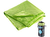 Semptec Urban Survival Technology Serviette en microfibres double face 180 x 90 cm  Vert