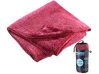 Semptec Urban Survival Technology Serviette en microfibres double face 180 x 90 cm  Rouge