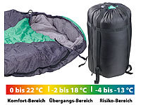 Semptec Urban Survival Technology Sac de couchage sarcophage 3 saisons  Pour Adulte