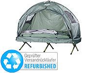 Semptec Urban Survival Technology 4in1-Zelt inkl. Schlafsack,Matratze Campingliege (refurbished)